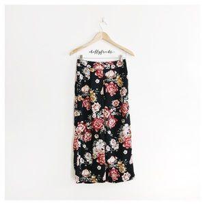 Wild Fable ∙ Floral Wide Leg Pants